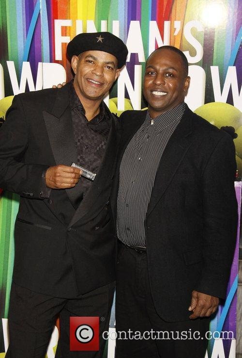 Guy Davis and James Stovall Opening night after...
