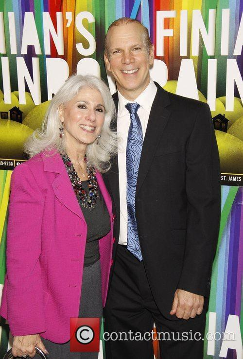 Jamie deRoy and David Zippel Opening night after...