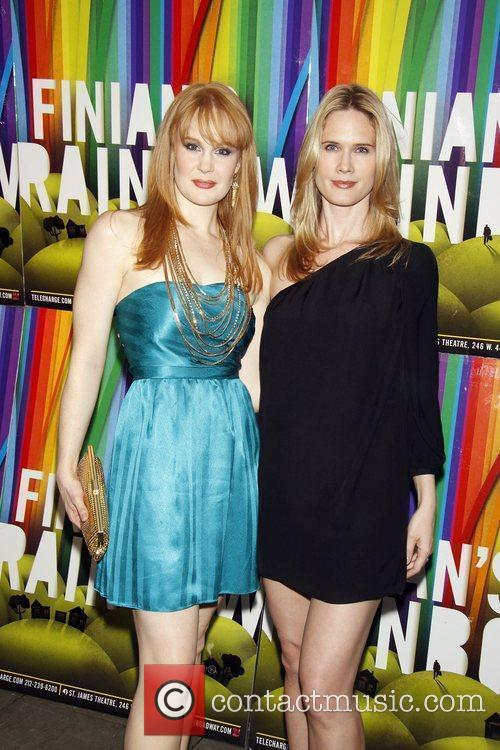 Kate Baldwin and Stephanie March Opening night after...