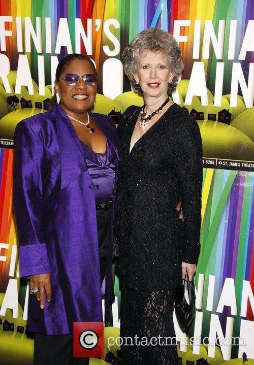 Terri White and Donna Barnett Opening night after...