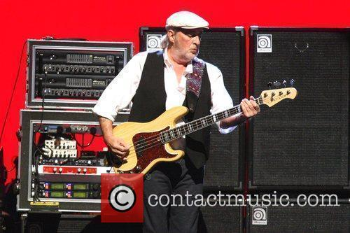John McVie Fleetwood Mac performing live at The...