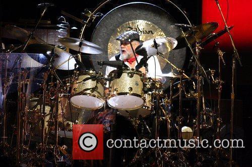 Mick Fleetwood Fleetwood Mac performing live at The...