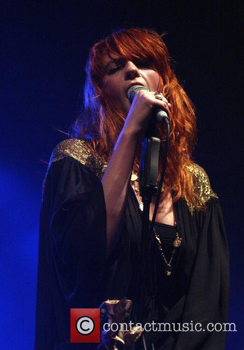Florence and the Machine perform live at the...