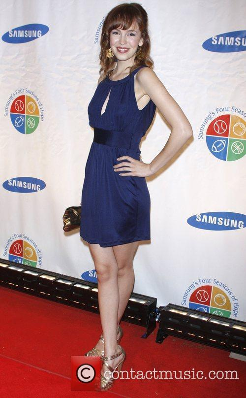 Brittany Allen Samsung's 8th Annual Four Seasons of...