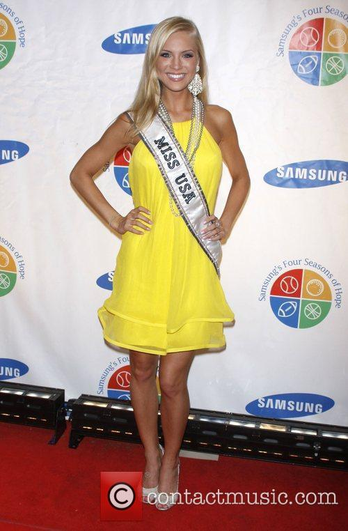 Miss USA Kristen Dalton Samsung's 8th Annual Four...