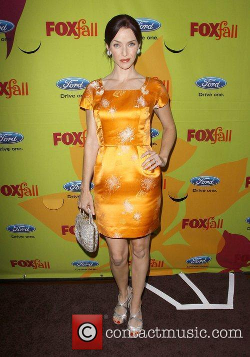 Annie Wersching 2009 Fox Fall Eco-Casino party held...