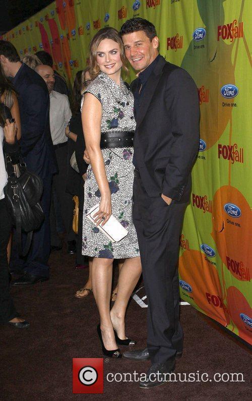 Emily Deschanel and David Boreanaz 5