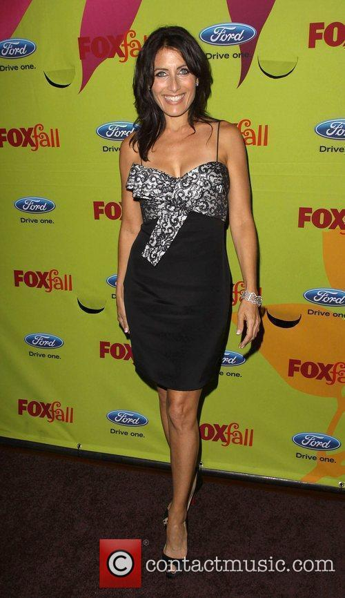 Lisa Edelstein 2009 Fox Fall Eco-Casino party held...