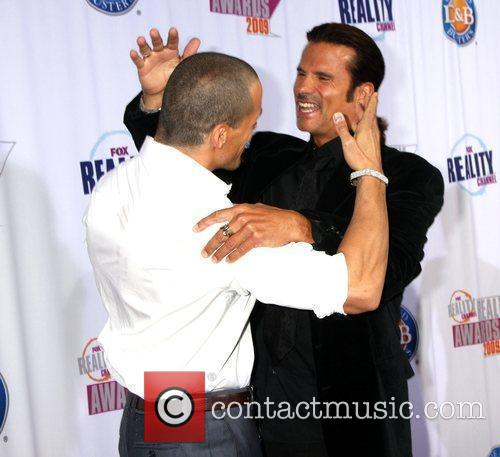 Antonio Sabato Jr & Lorenzo Lamas arriving at...