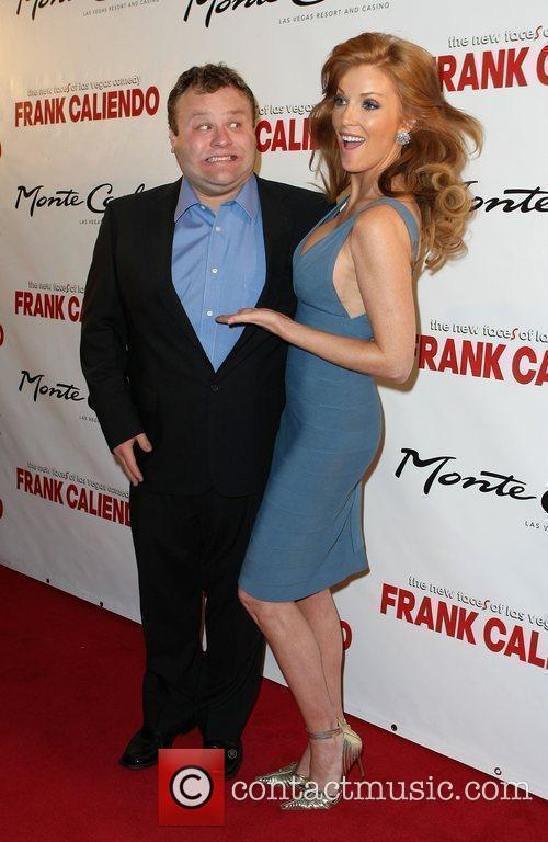 Frank Caliendo and Angelica Bridges