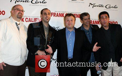 Frank Caliendo with his band Frank Caliendo and...
