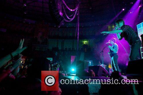 Franz Ferdinand performing live at Campo Pequeno Lisboa,...