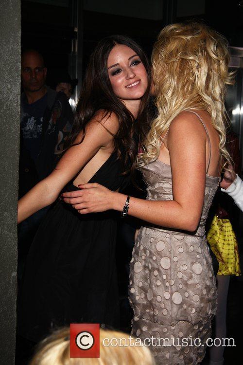 Caroline D'Amore and Lauren Mayhew 'Frat Party' Premiere...