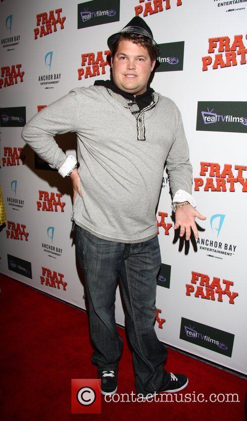 Jareb Dauplaise 'Frat Party' Premiere Pre-party at XIV...