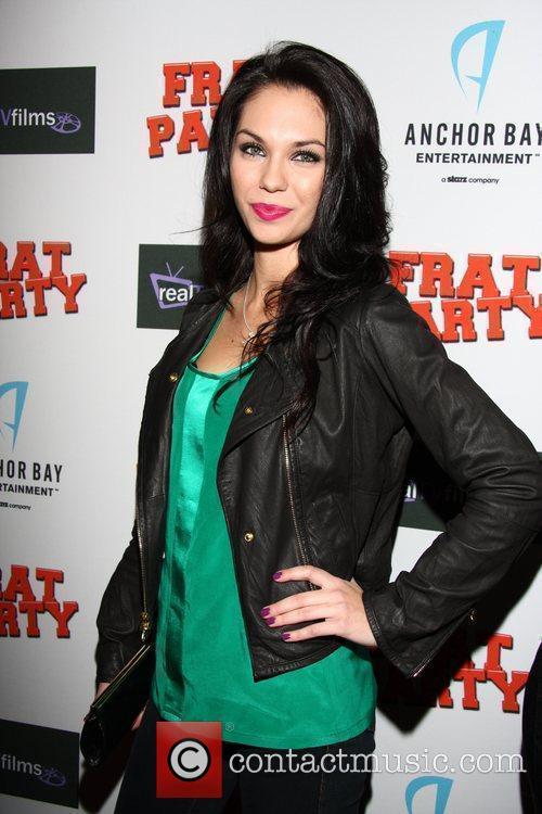 Katerina Mikailenko 'Frat Party' Premiere Pre-party at XIV...