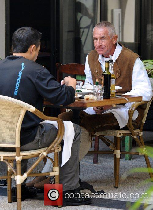 Frederic Prinz von Anhalt has lunch with a...