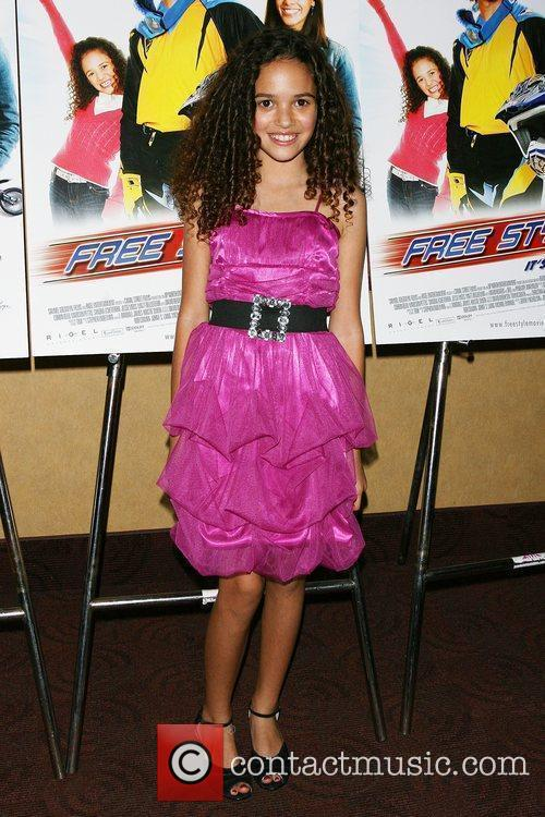 Madison Pettis Premiere of 'Free Style' at Clearview...
