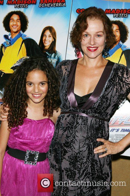 Madison Pettis, Penelope Ann Miller Premiere of 'Free...