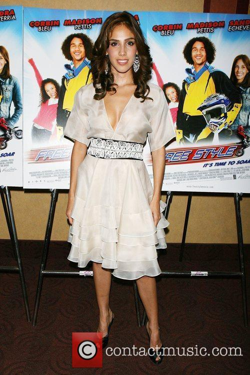 Sandra Echeverria Premiere of 'Free Style' at Clearview...