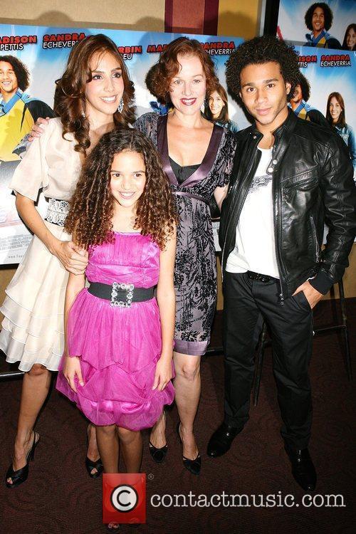 Sandra Echeverria, Penelope Ann Miller, Corbin Bleu, Madison...