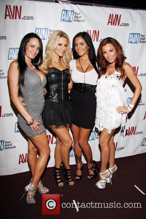 Alektra Blue, Jessica Drake, Mikayla Mendez and Kirsten...