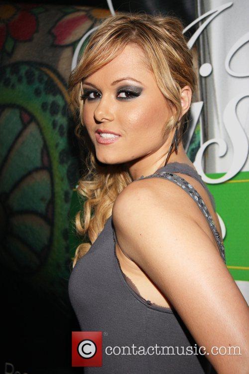 Angelina Armani Hustler Hollywood 'Sex, Drinks & Rock...