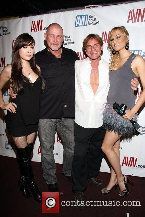 Sasha Grey, Mark Davis, Evan Stone and Angelina...