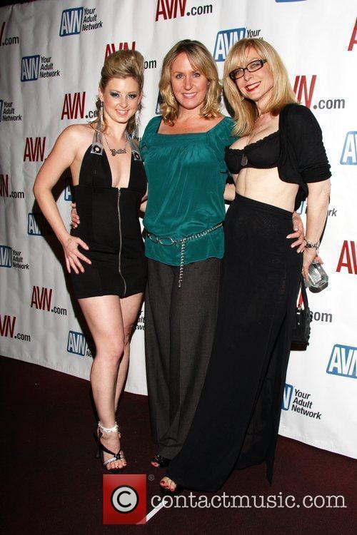 Sunny Lane, Theresa Flynt and Nina Hartley Hustler...