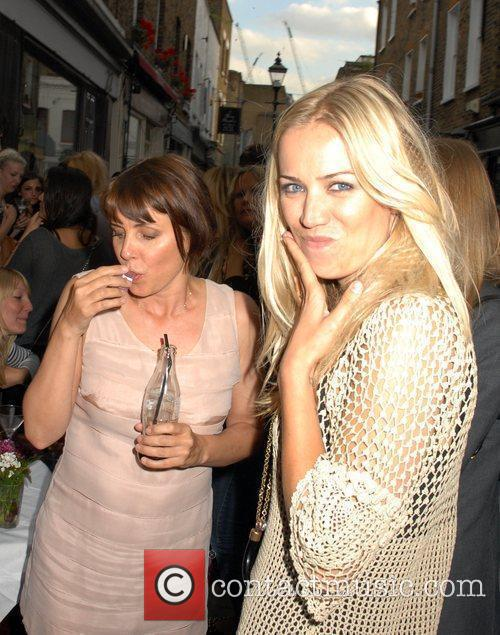 Sadie Frost and Guest outside the 'FrostFrench' summer...