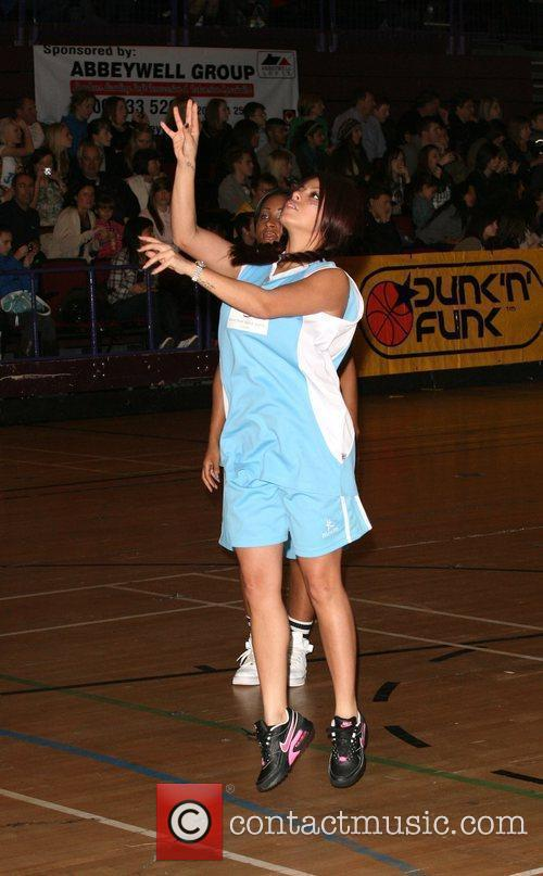 Kandy Rain Funk and Dunk celebrity Basketball held...