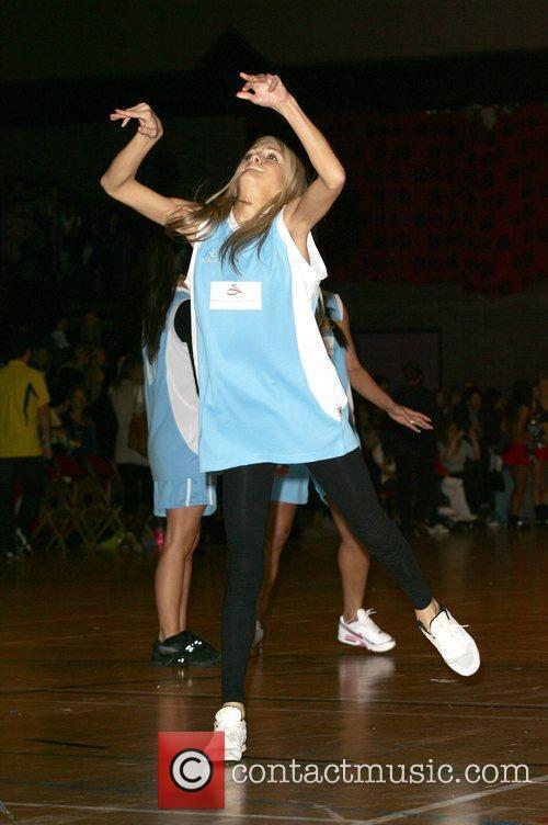 Nikki Grahame Funk and Dunk celebrity Basketball held...