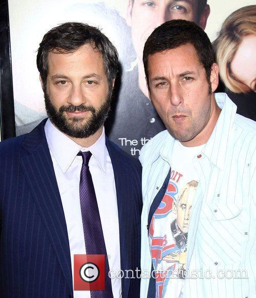 Judd Apatow and Adam Sandler 5