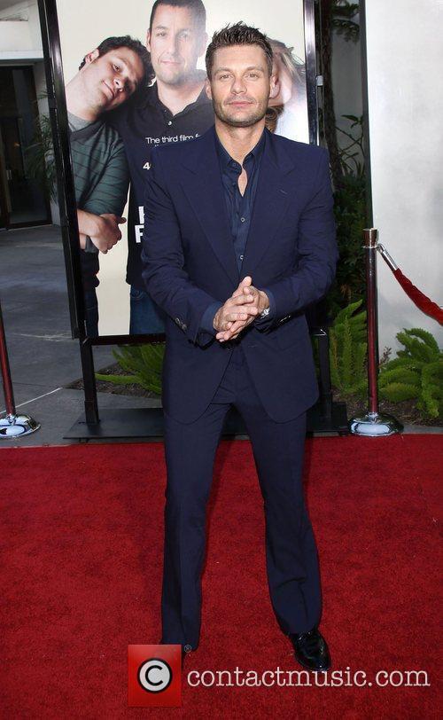 Ryan Seacrest LA premiere of Funny People at...