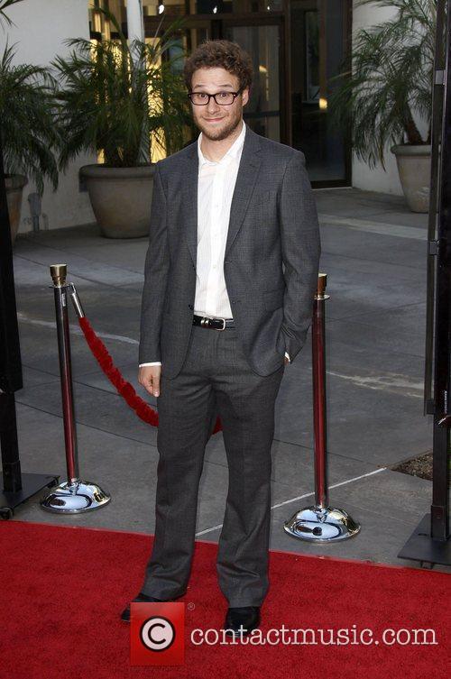Seth Rogen LA premiere of 'Funny People' at...