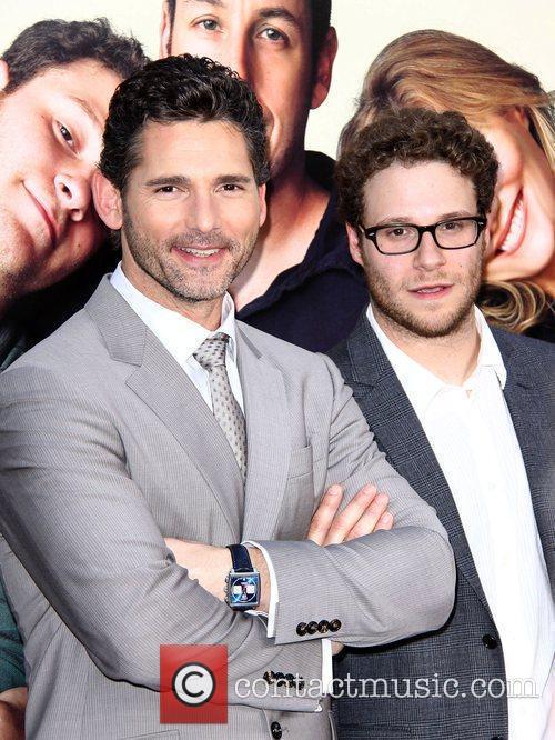 Seth Rogen and Eric Bana LA premiere of...