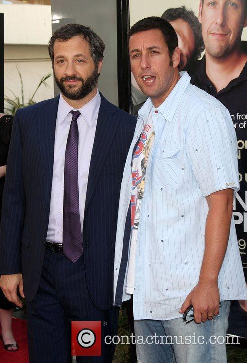 Judd Apatow and Adam Sandler 9