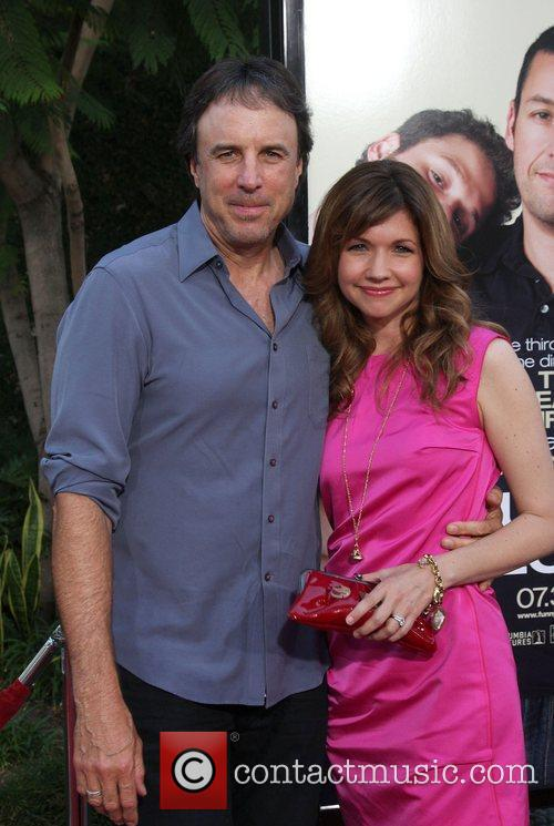 Kevin Nealon and Susan Yeagley LA premiere of...