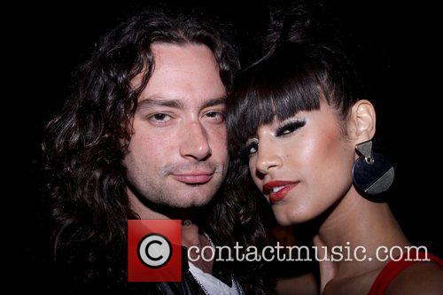 Constantine Maroulis and Jaslene Gonzalez