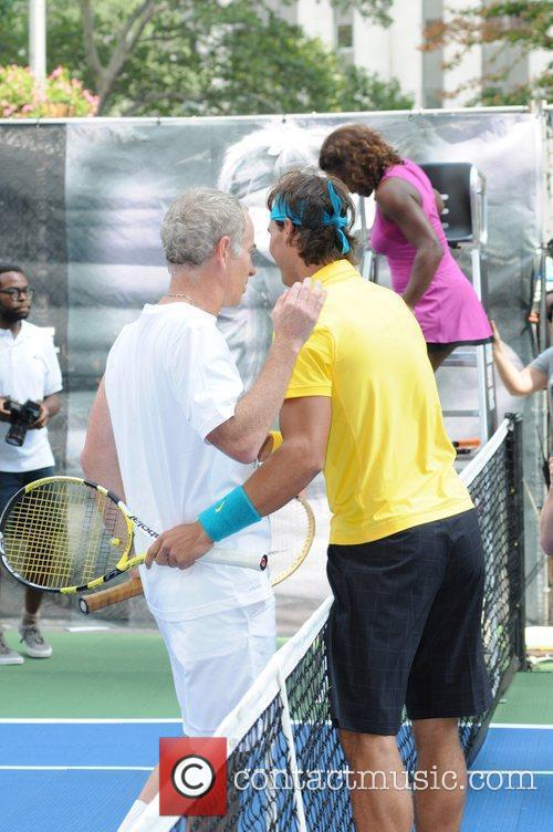 John Mcenroe and Rafael Nadal 8