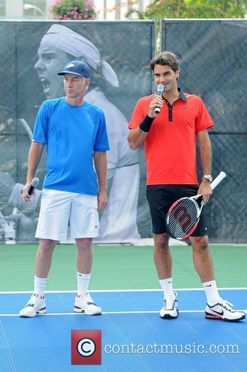 John Mcenroe and Roger Federer 2