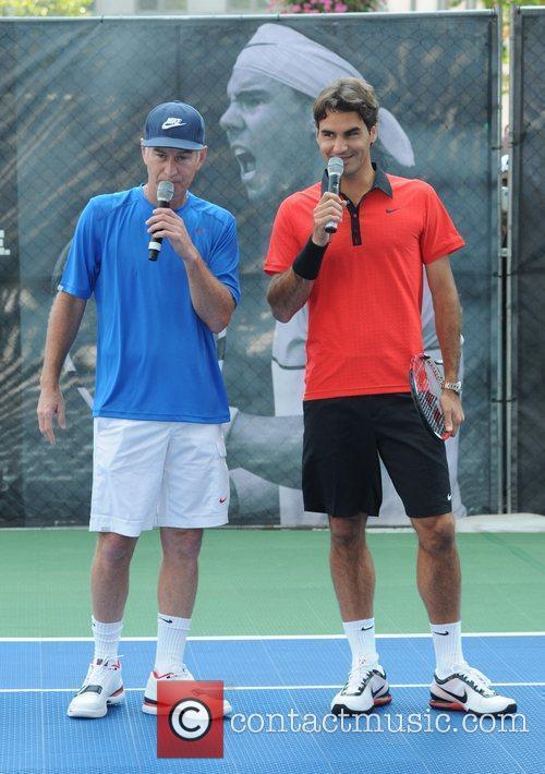 John Mcenroe and Roger Federer 7