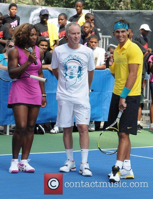 Serena Williams and John Mcenroe 8