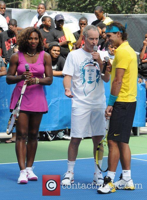 Serena Williams and John Mcenroe 7
