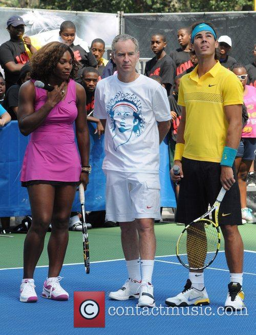 Serena Williams and John Mcenroe 3