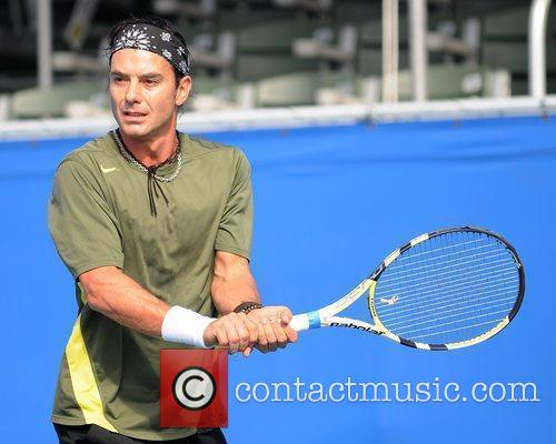Gavin Rossdale and Chris Evert 37