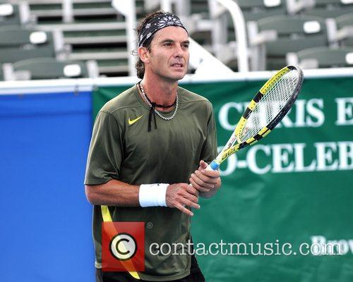 Gavin Rossdale and Chris Evert 13