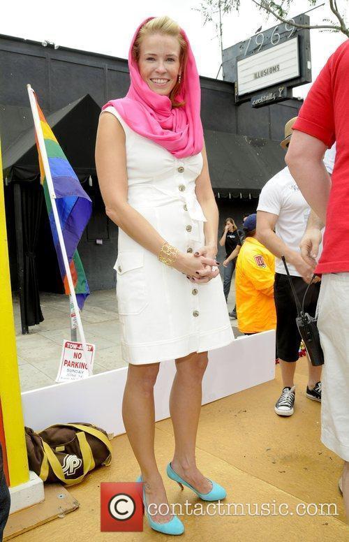 Chelsea Handler Los Angeles Gay Pride 2009 Festival...