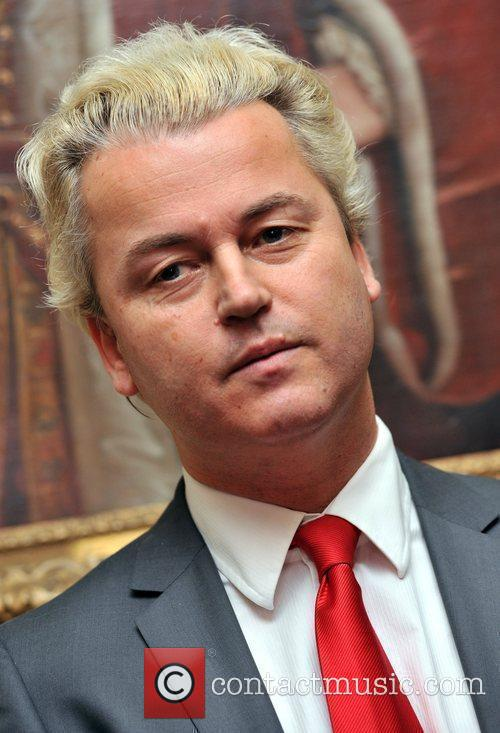 Geert Wilders gives a press conference in Westminster...