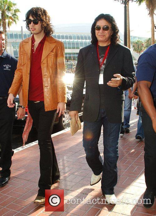 Gene Simmons and His Son 1