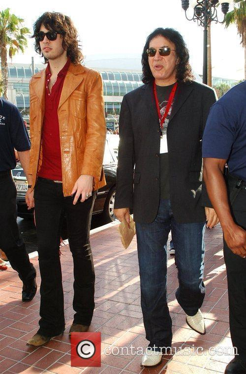 Gene Simmons and His Son 2